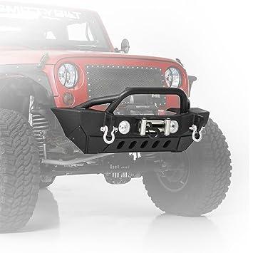Jeep Wrangler JK 2/4 Door (2007-2014) Front Steel Winch Bumper