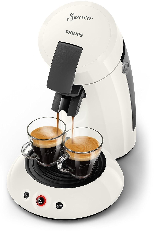Senseo Original HD6553/10 Independiente Semi-automática Máquina de café en cápsulas 0.7L Blanco - Cafetera (Independiente, Máquina de café en cápsulas, ...