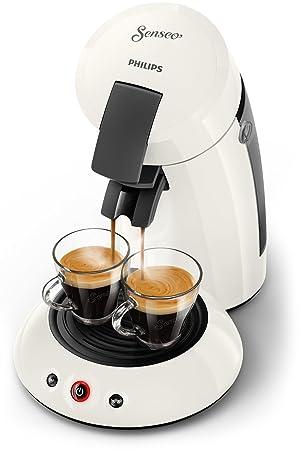 Senseo Original HD6553/10 - Cafetera (Independiente, Máquina de café en cápsulas, 0,7 L, Dosis de café, 1450 W, Blanco): Amazon.es: Hogar