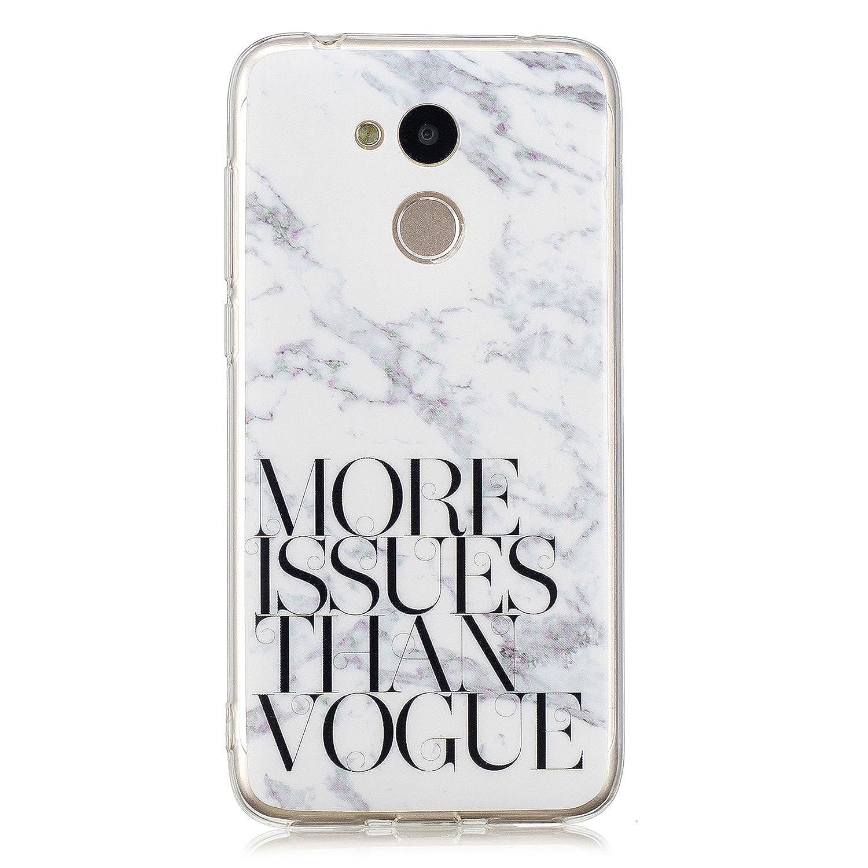MoreChioce kompatibel mit Huawei Enjoy 6A Hülle,kompatibel mit Huawei Enjoy 6A Silikon Hülle, Luxus TPU Mädchen Stoßfest Kratzfeste Durchsichtig Crystal Case Defender Bumper,EINWEG