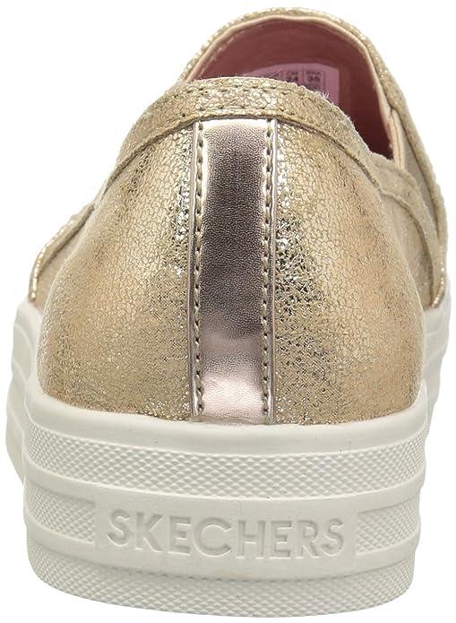 Dancer Up Kids' Shiny Sneaker Skechers Double jpMVLqSGUz