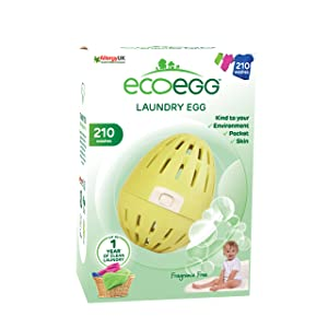 Ecoegg EELE210FF 210 loads Fragrance Free Laundry Egg,Fragrance Free