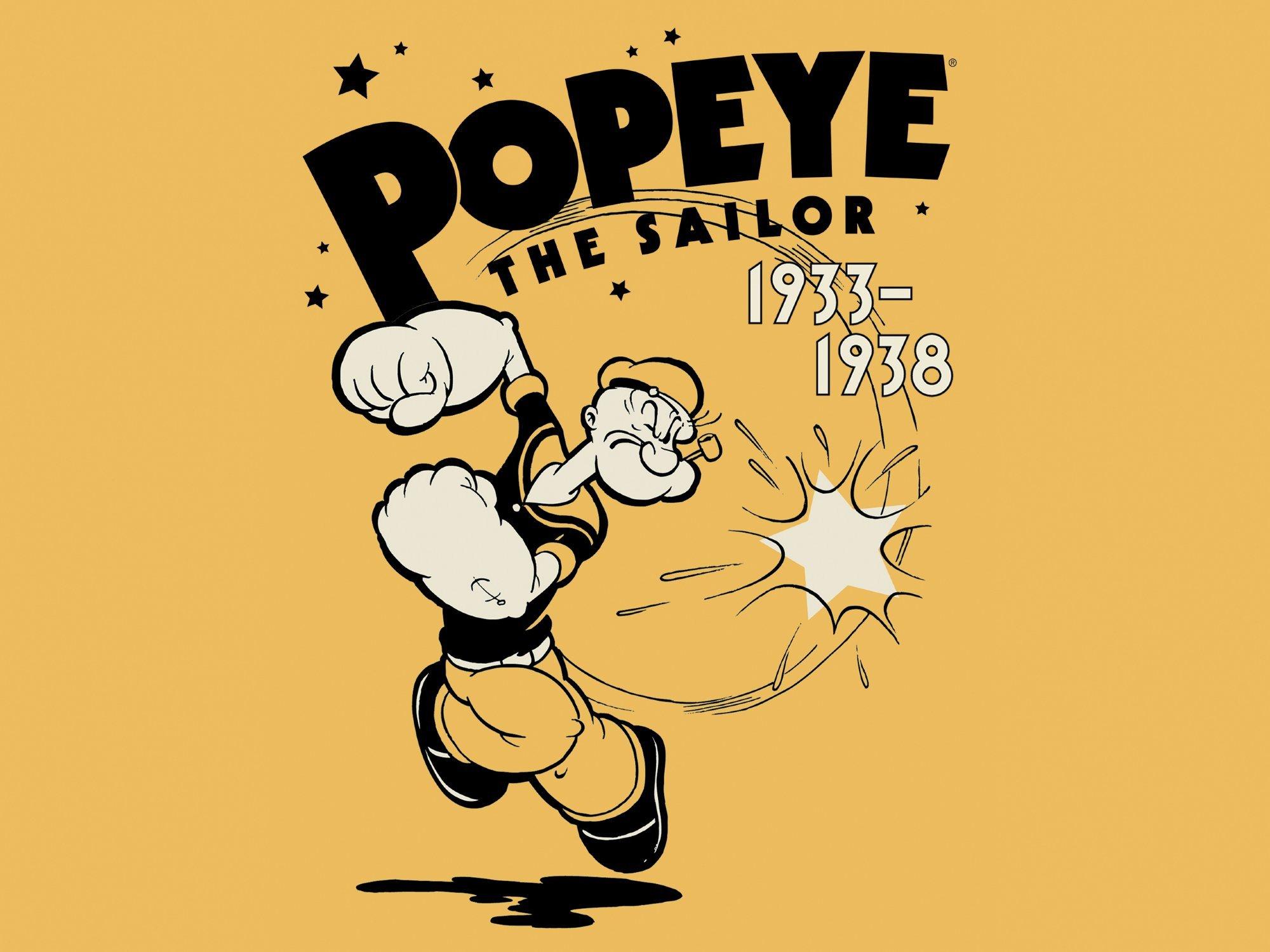 Amazon Popeye The Sailor Volume 1 1933 1938 Amazon Digital