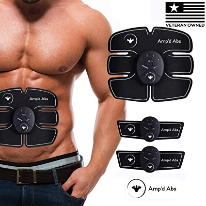 EMS Smart Abdominal Toning Muscle Trainer Body Toner Abs Workout Fitness US