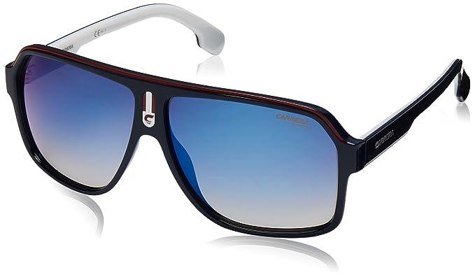 f81fd552008d Amazon.com: Carrera Men's 1001/s Aviator Sunglasses BLUE RED 62 mm ...