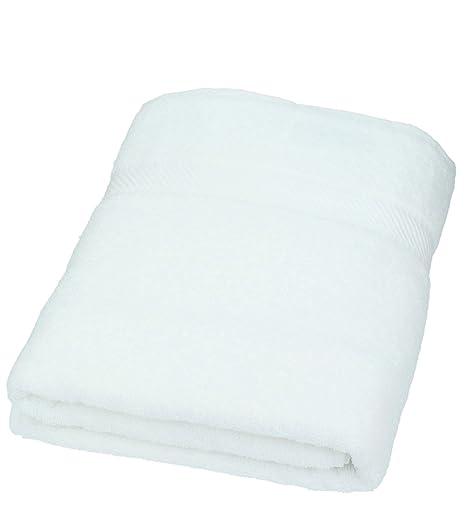 BETZ Toalla de baño XXL Palermo 100x200 cm 100% algodón Color Blanco