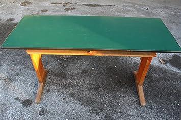 Schultisch antik  AMA Schulbank Schreibtisch Schultisch Original Vintage 1950er ...
