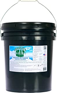 product image for Charlie's Soap Indoor & Outdoor Surface Cleaner (5 Gallon Bucket) Natural Outdoor Cleaning Spray – Safe for Indoor Use – Non-Toxic and Biodegradable