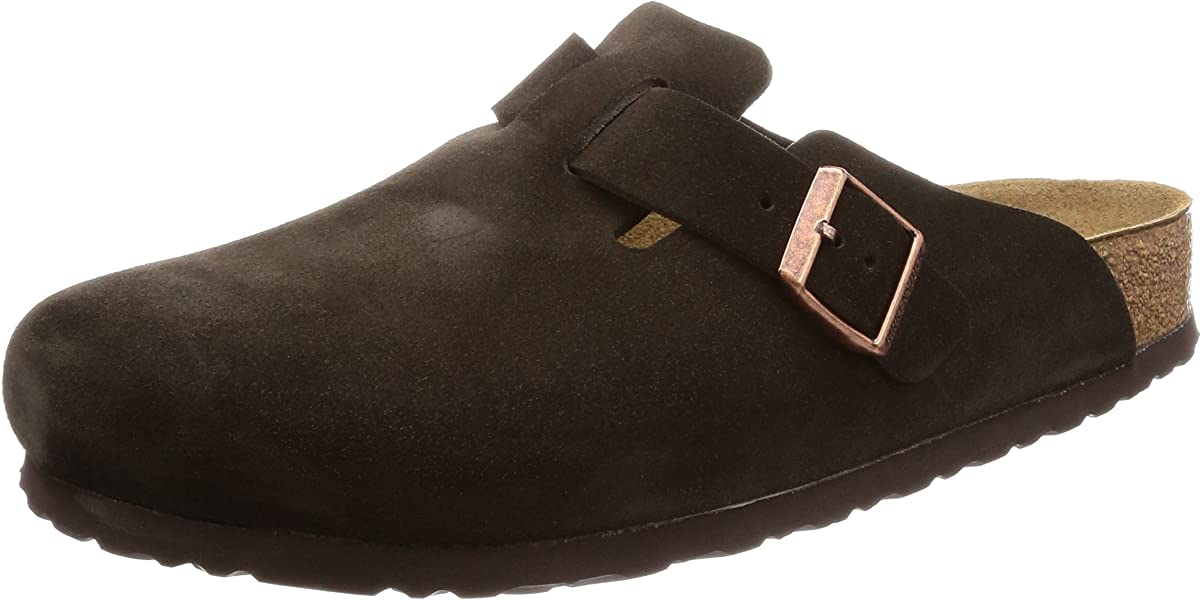 ef327f3e51ee Birkenstock Unisex Boston Soft Footbed