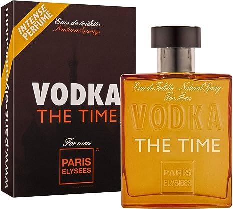 Vodka The Time Parfum 100ml Homme Paris Elysees