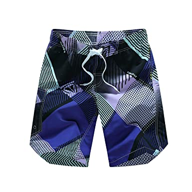 f71c647e53791 Image Unavailable. Image not available for. Color: Summer Men's Board  Shorts Quick Dry Men Swim Shorts Surf Swimwear Beach Short Male Athletic  Running