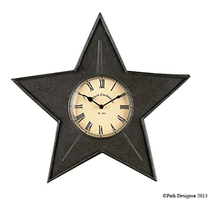 Amazon.com: Black Star Kitchen Wall Clock: Home & Kitchen on tag designs, fiesta designs, murphy home designs, star decorating ideas, meridian home designs, bus home designs, bear home designs, star books, arthur court designs, star clothing, love home designs, nate berkus home designs, jonathan adler designs, star land, michael aram designs, star house,
