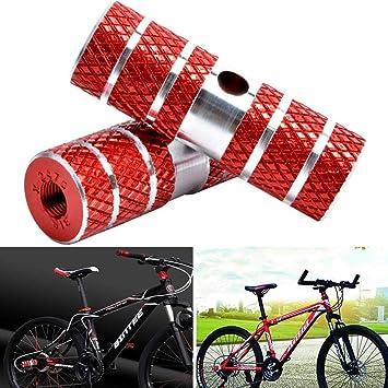 BESTZY 2Pcs Clavijas de Bicicleta, Aluminio Pie Stunt Pegs para ...