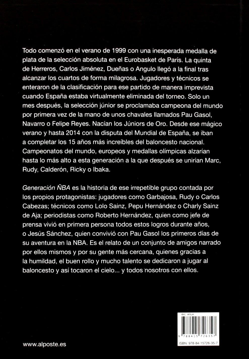 Generación ÑBA (DEPORTES - FUTBOL): Amazon.es: Antonio Sánchez: Libros