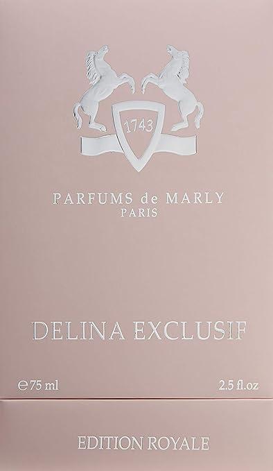 Delina Exclusif by Parfums De Marly Eau De Parfum Spray 2.5 oz 75 ml (Women)