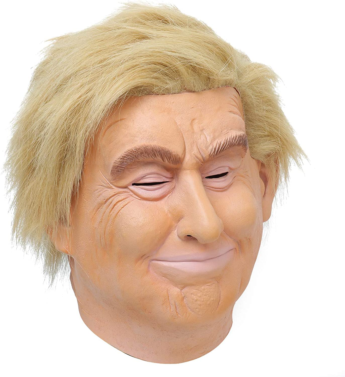 President Donald Trump Deluxe Latex Full Adult Halloween Mask Costume Accessory