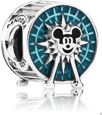 Amazon.com: PANDORA Disney Park Exclusive Mickey's Fun Wheel Charm ...
