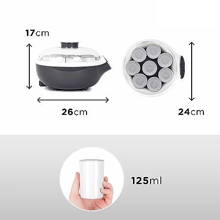 Duronic YM2 Yogurtera vasos