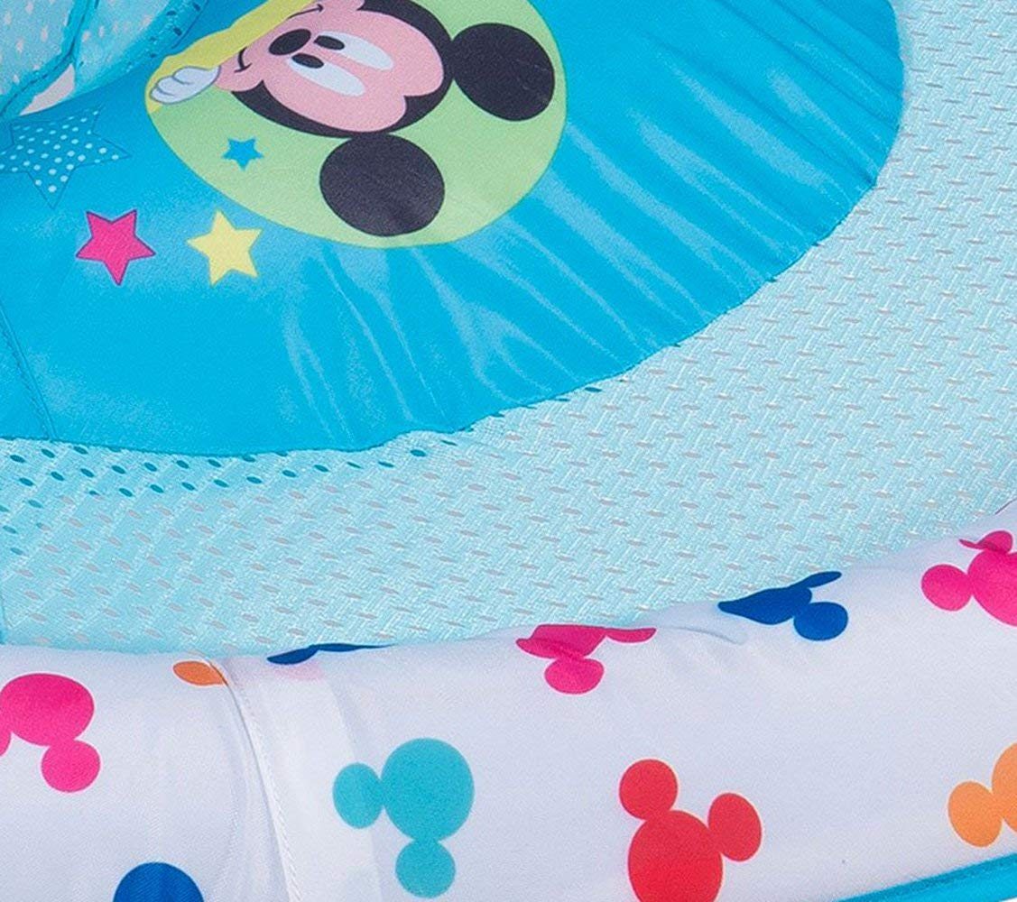 SwimWays Inflatable Infant Baby Swimming Pool Float w/Canopy, Mickey Mouse (2 Pack) by SwimWays (Image #2)