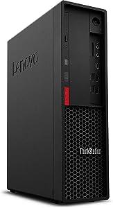 Lenovo ThinkStation P330 SFF Small Form Factor Desktop, Intel Xeon E-2146G, 16GB RAM, 512GB SSD, Windows 10 Pro (Renewed)