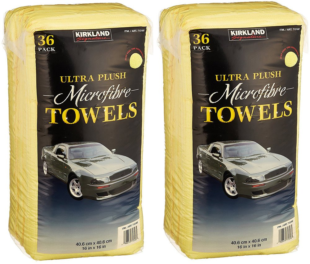 Kirkland Signature Ultra High Pile Premium Microfiber Towels
