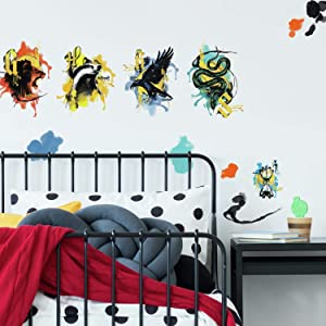 RoomMates Harry Potter Hogwarts House Peel and Stick Wall Decals