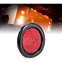 luz trasera para veh/ículo Luz trasera magn/ética LED para coche amarillo doble blanco luz trasera multifuncio luz trasera universal de 12 V 2 luces de panel de luces de remolque con cable de 10 m