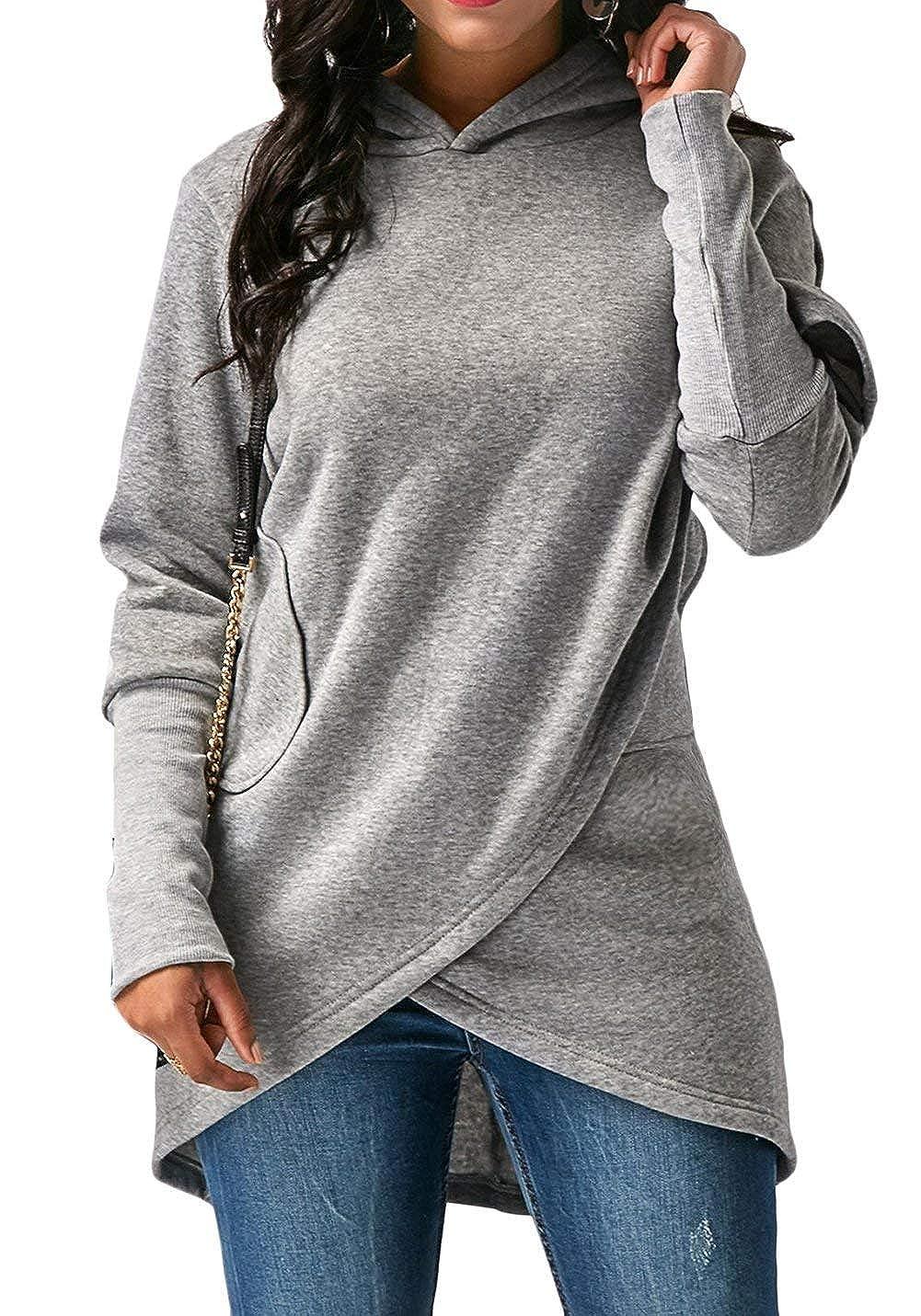 huge discount 834ac 45caf Neu Huixin Langarmshirt Damen Lose Oversize Pullover ...
