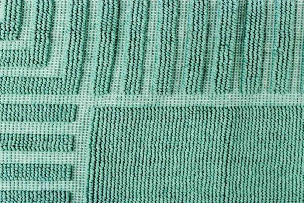 100/% Baumwolle Badematte Darmstadt Grau 50x80 cm et/érea Badteppich