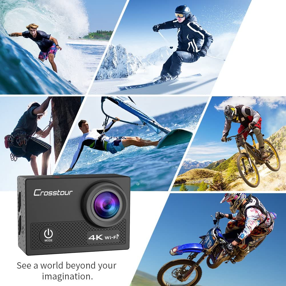 best action camera under $100 | Crosstour Sports