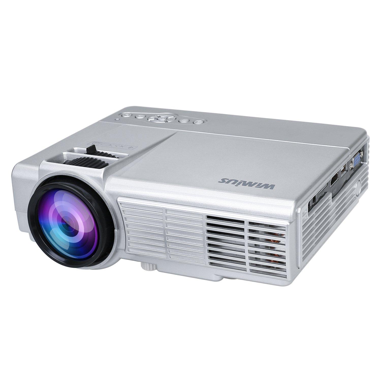 Proyectores, Proyector Full HD 3500 Lú menes Support 1080P (T4-Plata) Proyector Full HD 3500 Lúmenes Support 1080P (T4-Plata) WiMiUS