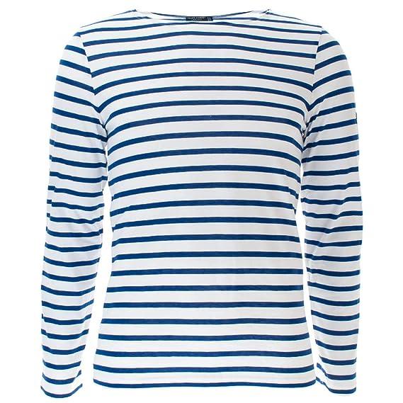 a01012c157d463 Saint James Unisex Langarmshirt Minquiers Modern  Amazon.de  Bekleidung