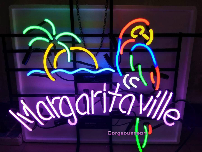 Gorgeous neon ネオンサイン― Margaritaville Cocktailsカクテル ネオン看板装飾用ガラスネオンサイン。バー、クラブ、レストラン、カフェー、スナック、車庫などいろいろなシーンで壁面装飾としてお使い頂けます。 (2) (4) (7) (1) (6) (6) (2) B07DZXZJPL
