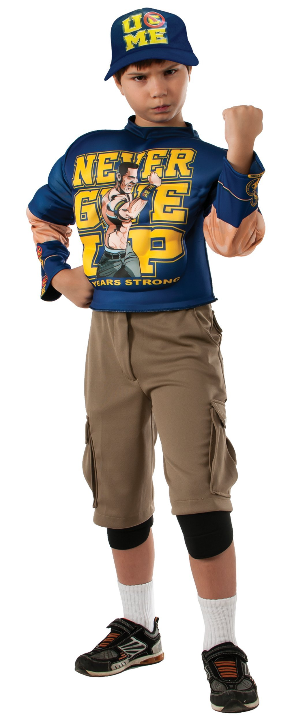 Muscle Chest John Cena Child Costume - Medium