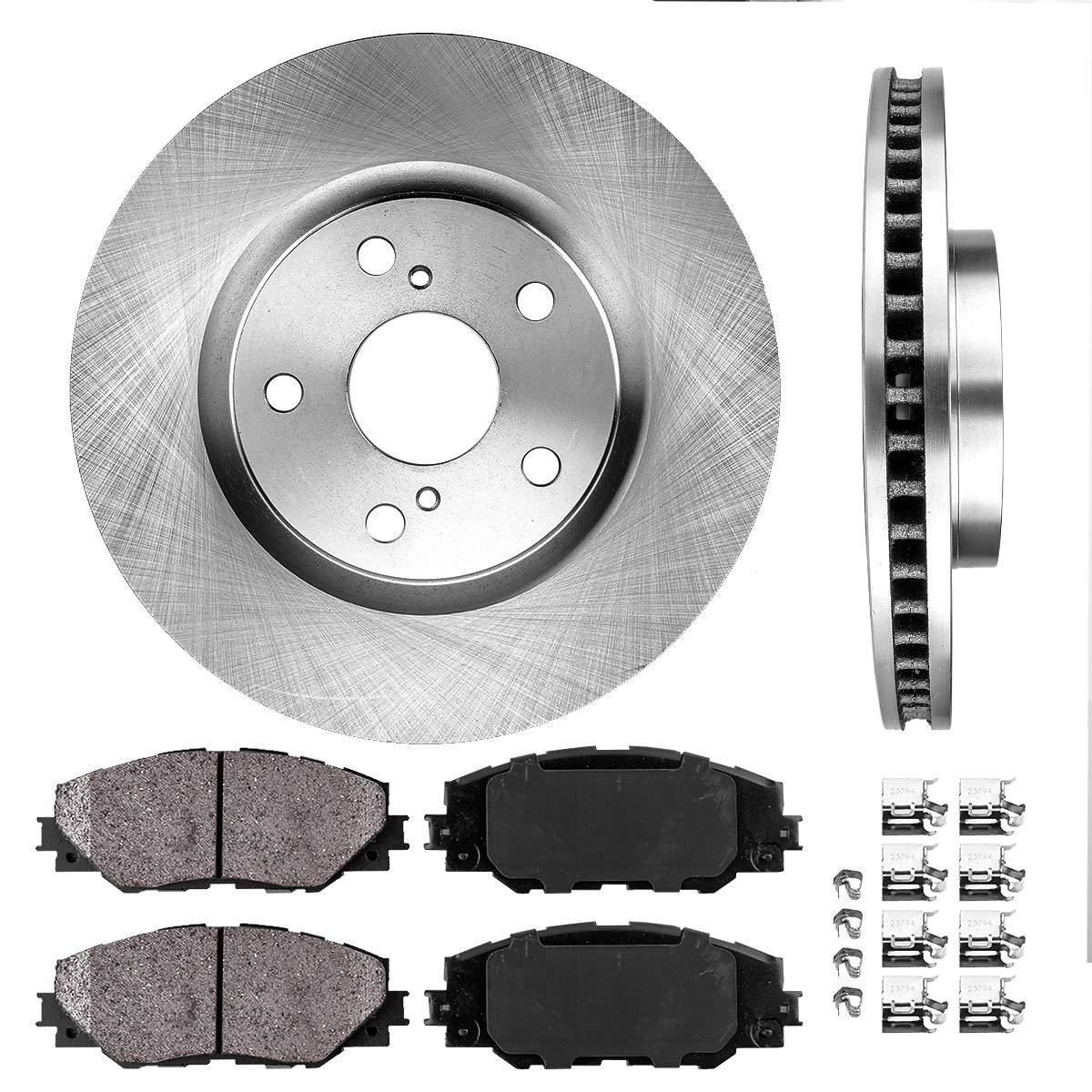 |Front Rotors w//Ceramic Pads OE Brakes 1999 2000 2001 2002 2003 Windstar