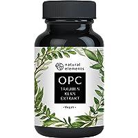 OPC Traubenkernextrakt - 180 Kapseln für 6 Monate - Laborgeprüftes Premium OPC aus europäischen Weintrauben - Ohne unerwünschte Zusätze - Hochdosiert, vegan und hergestellt in Deutschland