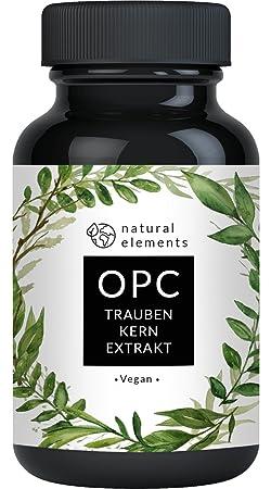 OPC Traubenkernextrakt - 240 Kapseln für 8 Monate - Laborgeprüftes Premium OPC aus europäischen Weintrauben - Ohne unerwünsch