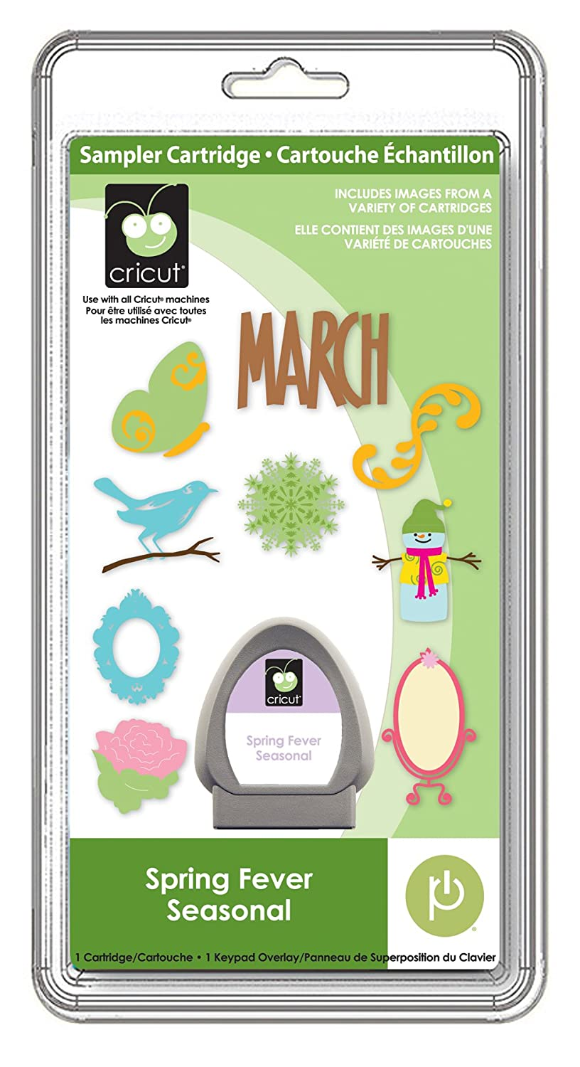 Spring Fever Seasonal Cricut Sampler Cartridge Provo Craft/ Cricut