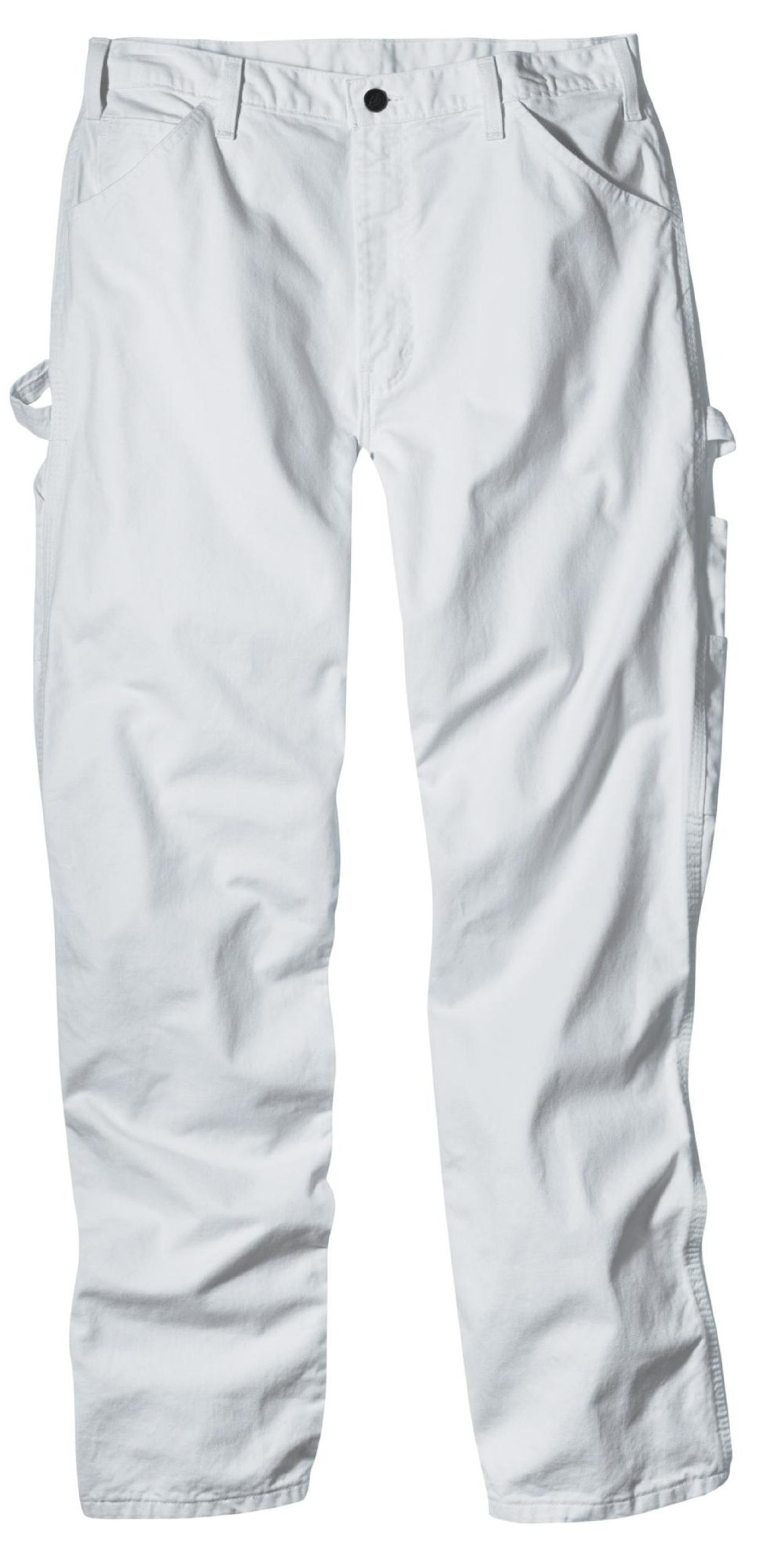 Dickies Industrial Wear 1953 34W by 34L Men's Relaxed Fit Cotton Utility Painters Pants, White