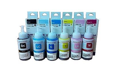 Dubaria Refill Ink For Use In Epson M100 M200 Printers Black Refill