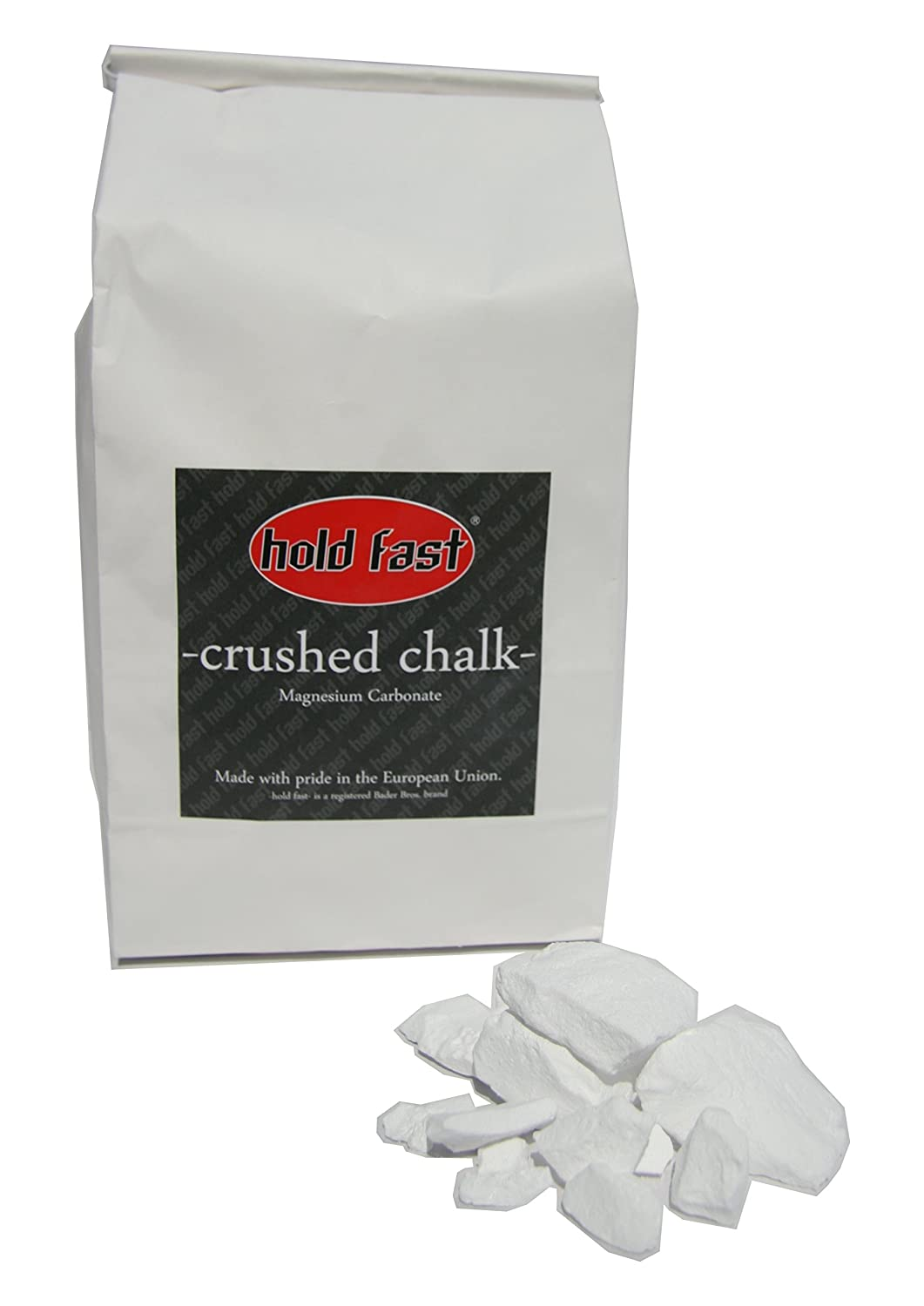 Hold Fast Crushed Chalk im 250G sacchetto, Magnesia, Arrampicata gesso Bader Bros. GbR