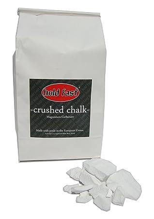 Hold Fast Crushed Chalk en bolsa de 250 g, Magnesia, tiza de escalada: Amazon.es: Deportes y aire libre