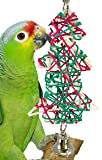 Bonka Bird Toys 1530 Large Christmas Tree Parrot Bird Toy Foraging Parrot Cage Cages Cockatiel Budgie African Grey Parakeet Conure