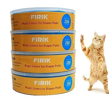 Cambios de panles para bebe y gatos,Cubos de basura para pañales,Recarga compatible
