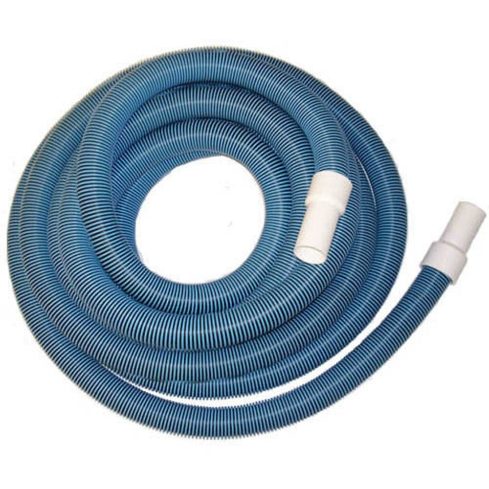 Protech BS114X18 1.25'' x 18' Vacuum Hose with Swivel Cuff