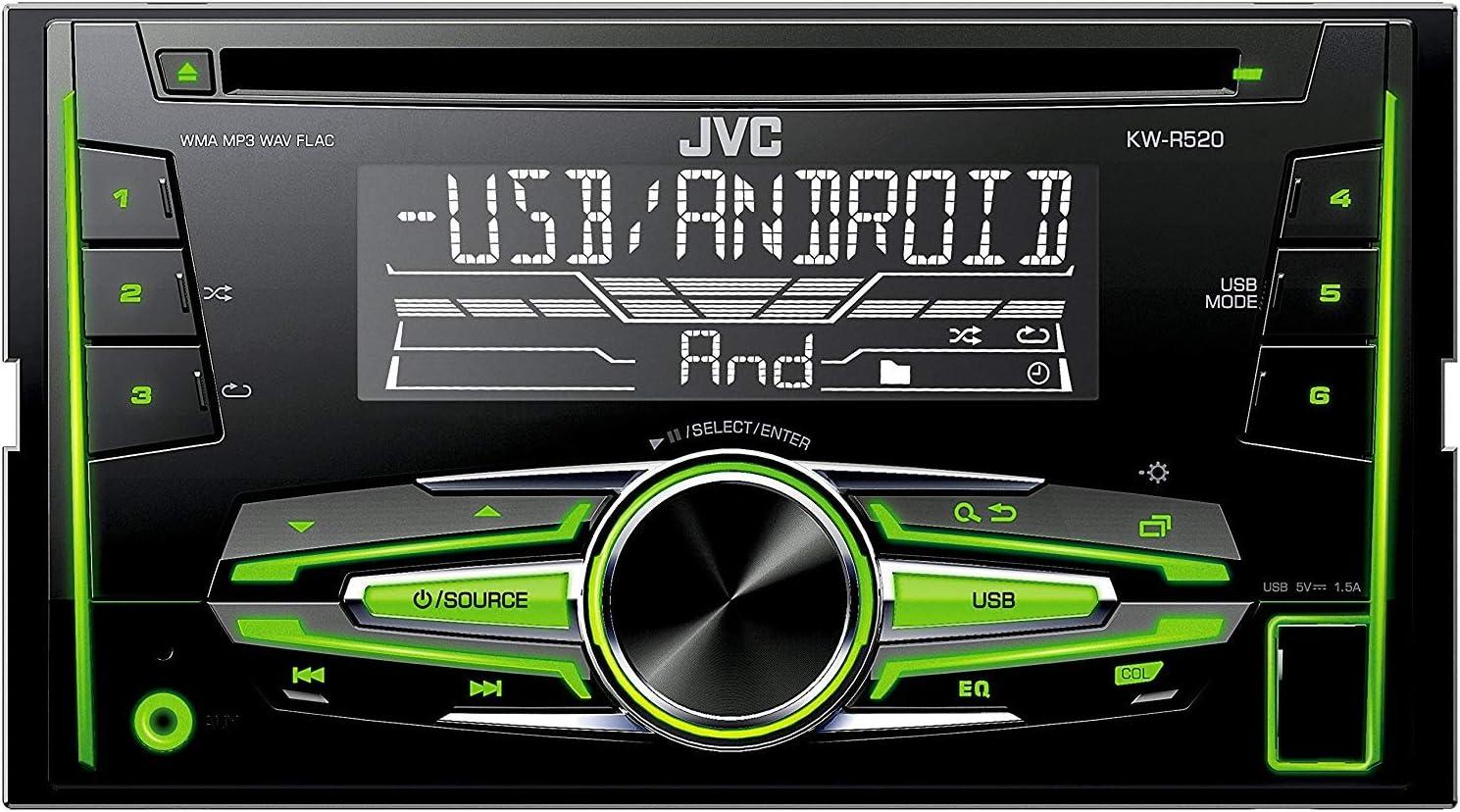 bis 2009 9N JVC KWR520 Radio 2DIN für VW Polo