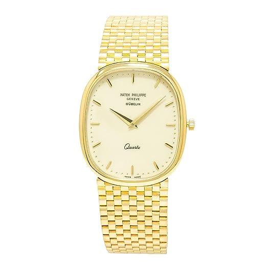 PATEK PHILIPPE Golden Ellipse automatic-self-wind Mens Reloj 3838/1 (Certificado) de segunda mano: Patek Philippe: Amazon.es: Relojes