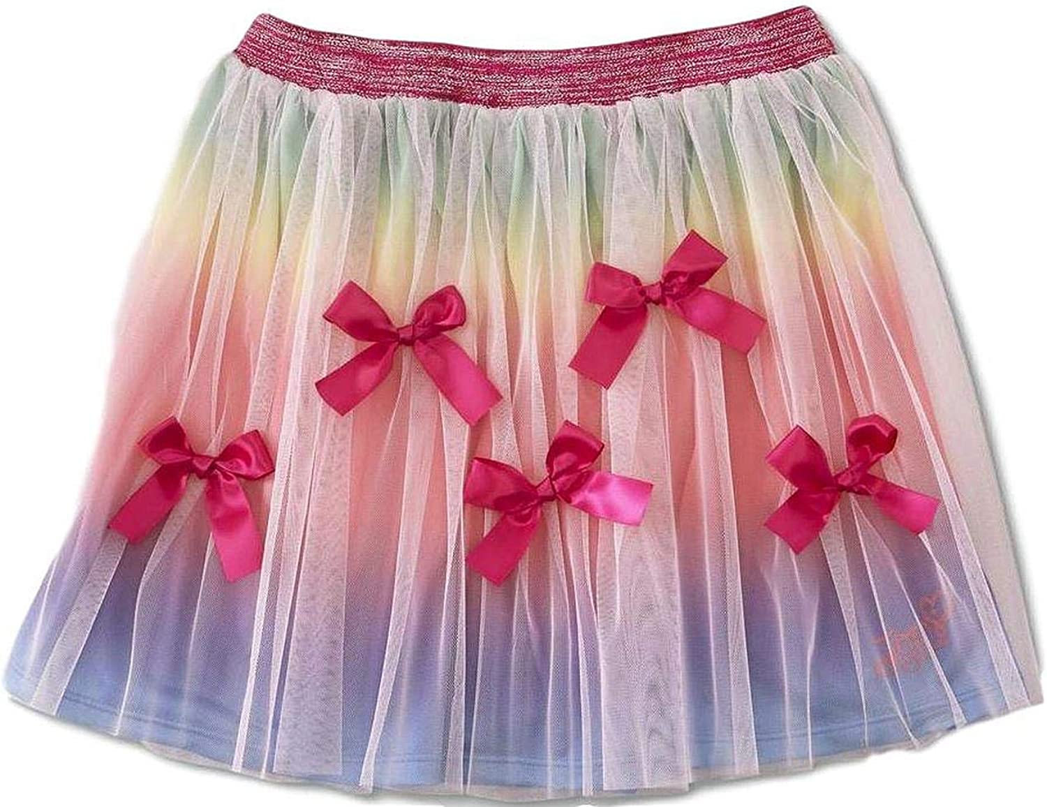 /& Plus Sizes JoJo Siwa Girls Tutu Skirt Pink Bow Rainbow Reg