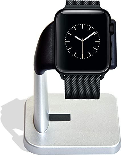 MELKIOX Apple Watch Charging Stand Compatible with iWatch Nightstand Charger Series 4 / Series 3 / Series 2 / Series 1 44mm, 42mm, 40mm, 38mm.