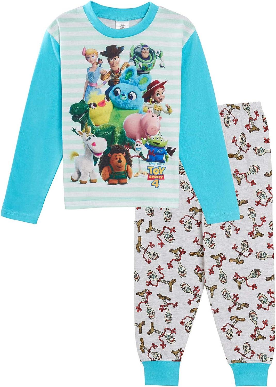 Disney Toy Story 4 - Albornoz con capucha para niños y niñas
